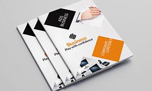 公司企業畫冊版式設計模板源文件V07