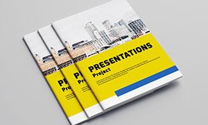 公司企業畫冊版式設計模板源文件V08