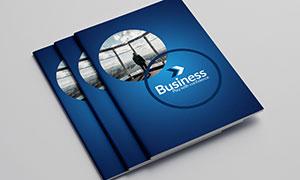 公司企業畫冊版式設計模板源文件V09