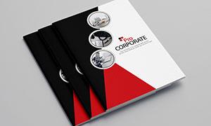 公司企業畫冊版式設計模板源文件V10