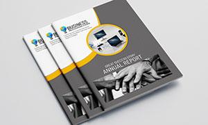 公司企業畫冊版式設計模板源文件V14