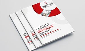 公司企業畫冊版式設計模板源文件V15