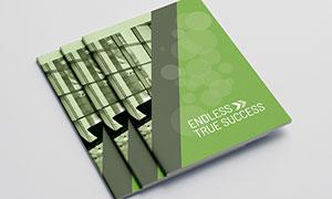 公司企業畫冊版式設計模板源文件V17