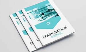 公司企業畫冊版式設計模板源文件V18
