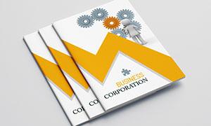 公司企業畫冊版式設計模板源文件V19