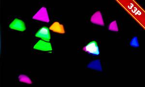 夢幻唯美光斑元素圖層疊加素材集V50