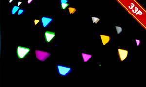 夢幻唯美光斑元素圖層疊加素材集V51