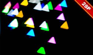 夢幻唯美光斑元素圖層疊加素材集V52