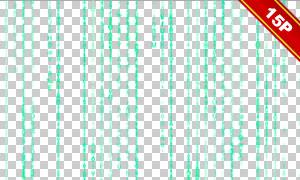 字符圖案豎向線條創意圖層疊加素材