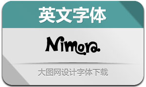 Nimora(英文字体)
