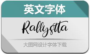 Rallystta(英文字体)
