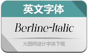 Berline-Italic(Ó¢ÎÄ×Öów)