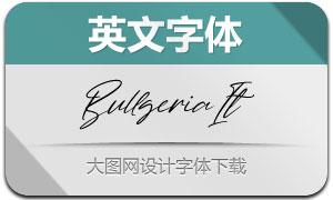 Bullgeria-Italic(Ó¢ÎÄ×Öów)