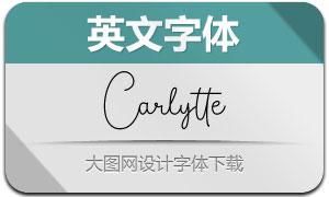 Carlytte(Ó¢ÎÄ×Öów)