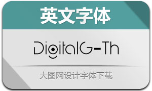 DigitalGeometric-Th(Ó¢ÎÄ×Öów)