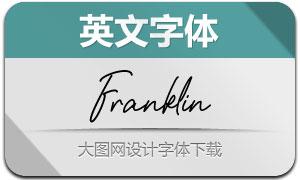 Franklin(Ó¢ÎÄ×Öów)