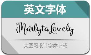 MarlytaLovely(Ó¢ÎÄ×Öów)