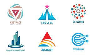 五角星等图形标志创意设计矢量素材