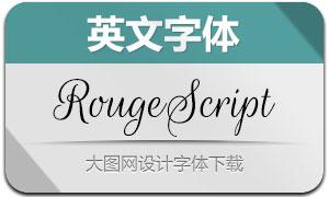 RougeScript(英文字体)