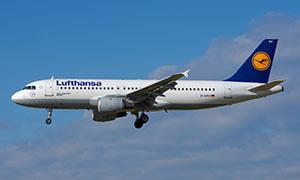 空中客车A320-200民航客机高清图片
