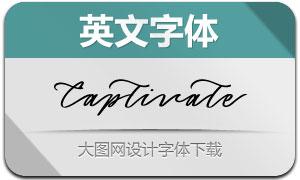 Captivate(英文字体)