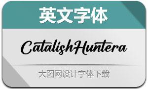 CatalishHuntera(英文字体)
