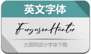 FergusonHunter(英文字体)