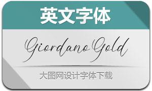 GiordanoGold(英文字体)