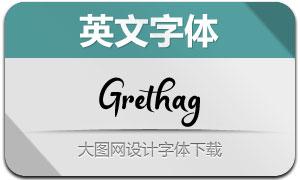 Grethag(英文字体)