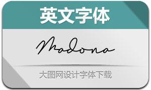 Madona(英文字体)