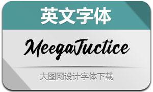 MeegaJuctice(英文字体)