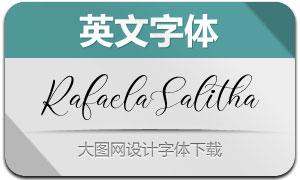 RafaelaSalitha(英文字体)