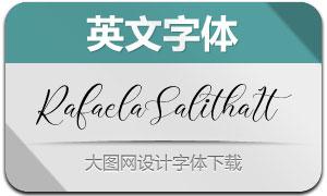 RafaelaSalitha-Italic(英文字体)