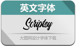 Scriptsy(英文字体)