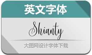 Shianty(英文字体)