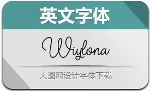 Wiylona(英文字体)