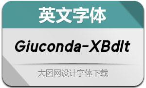 Giuconda-ExtraBoldIt(英文字体)