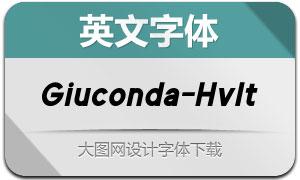 Giuconda-HeavyItalic(英文字体)