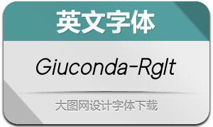 Giuconda-RegularItalic(英文字体)