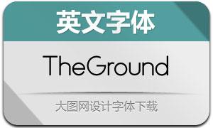 TheGround-Regular(英文字体)