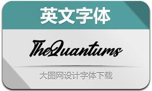 TheQuantums(英文字体)