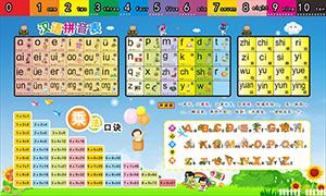 乘法口訣表和漢語拼音表模板矢量素材