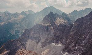 壮观的山川群山高清摄影图片