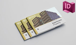 房产公司企业画册版式设计模板素材