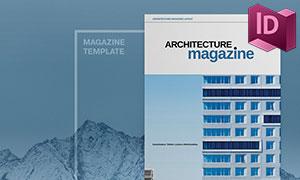 建筑公司等多用途画册版式模板素材