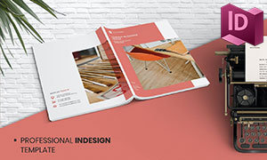 公司业务与团队介绍等画册模板素材