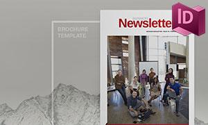 公司内部期刊杂志画册模板设计素材