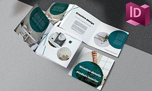 室内家具产品宣传展示画册版式模板