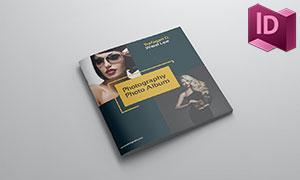 二十余页杂志画册版式设计模板素材