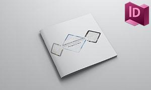 公司商务场景宣传画册版式设计模板